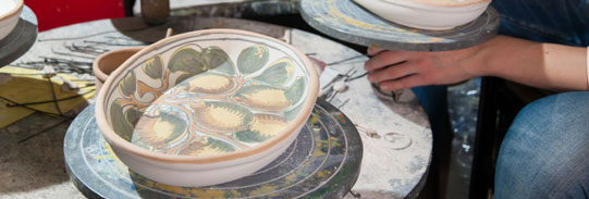 Handmade Ceramics by the Artists of Sicily