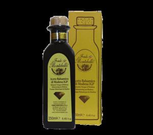 "FM02 Fondo Montebello Balsamic Vinegar ""Papillon"" Diamond Gold Box"