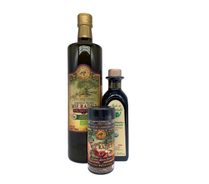 Nocellara Organic & Organic Balsamic & Spice